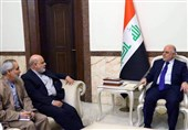 مسجدی یؤکد للعبادی دعم ایران لقوة الدولة العراقیة