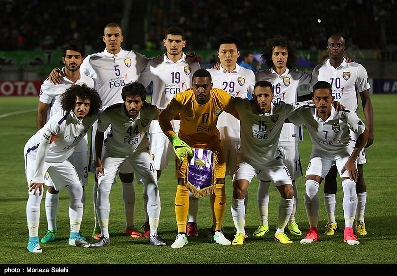 دیدار تیم های فوتبال ذوبآهن و العین امارات
