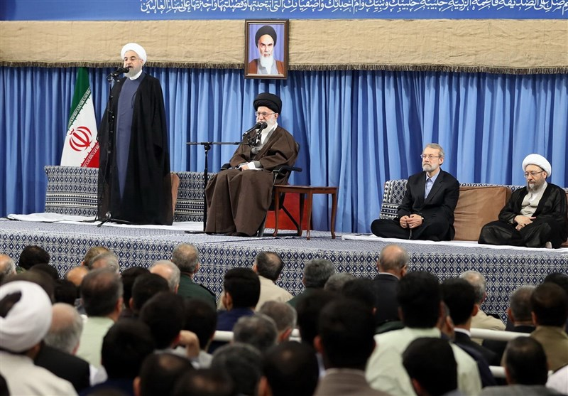 President Hails Islamic Democracy in Iran