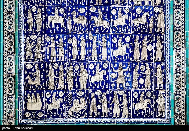 Muavenulmul Takkesi, Çini ve Seramik Süsleme Sanatı Şaheseri