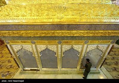 مراحل پایانی ساخت ضریح امامین عسگرین (ع) - سامرا