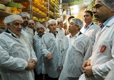 رئیس پارلمان قرقیزستان از شرکت کاله بازدید کرد+ تصاویر
