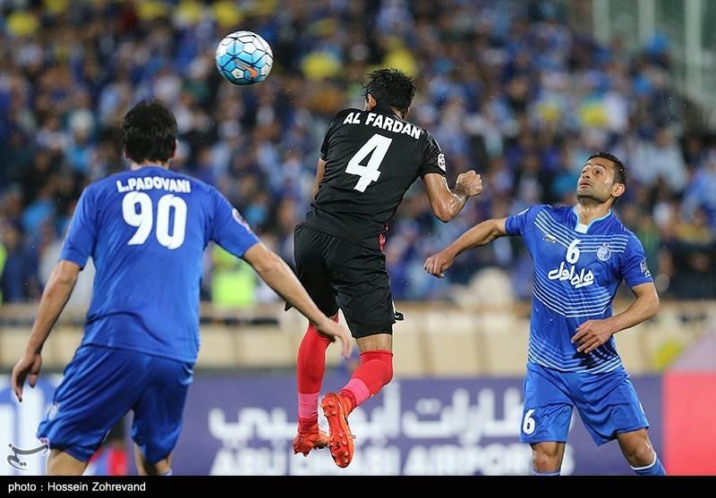 دیدار تیم های فوتبال استقلال و الاهلی