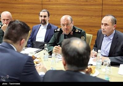 دیدار وزیر دفاع ایران با وزرای دفاع صربستان و هندوستان در حاشیه ششمین نشست امنیت بین الملل مسکو