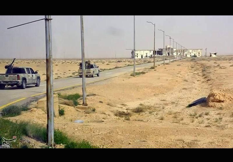آزادسازی کامل جاده تدمر-دمشق
