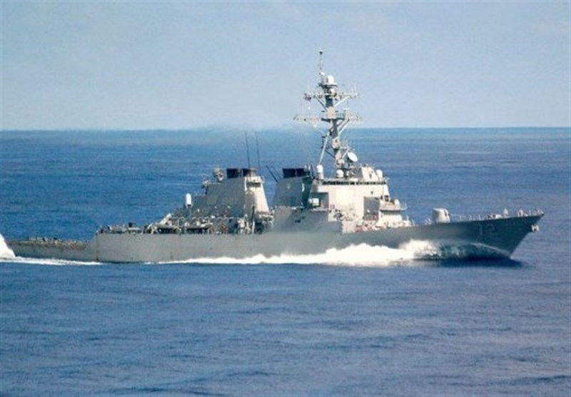 The USS Mahan destroyer