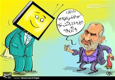 کاریکاتور/ سوالات مناظره رو میدی یا ... !!!