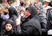 تشییع پیکرهای شهدای مظلوم کفریا و فوعه - سوریه