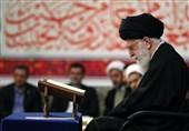 قائد الثورة یستقبل المنظمین والمشارکین فی المسابقات الدولیة للقرآن الکریم