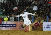 عملکرد تیم ملی فوتبال ساحلی ایران در نخستین گام مثبت بود