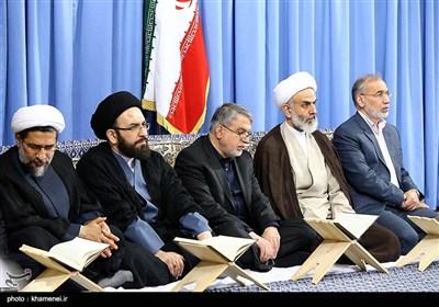 Int'l Quran Competition Participants Meet with Ayatollah Khamenei