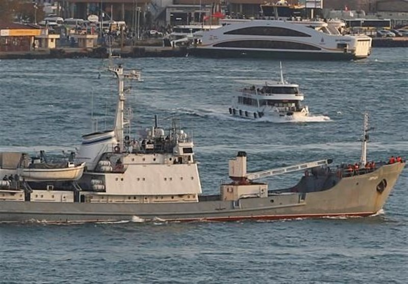 Russian Intelligence Ship Sinks Off Turkey's Black Sea Coast: Authorities