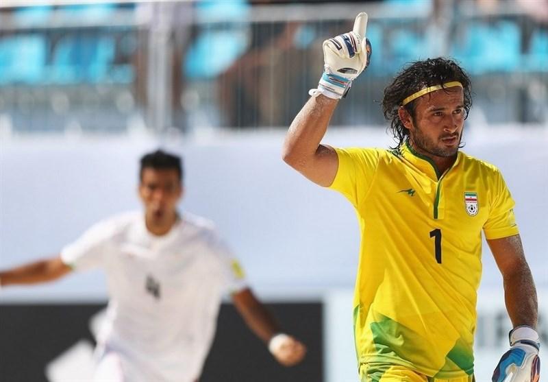 حسینی: قهرمانی تیم فوتبال ساحلی با حضور برزیل دلچسبتر میشد/ پاداش من شادی مردم است,