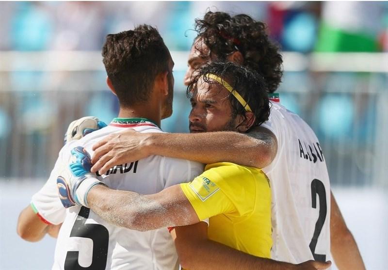 جام بین قارهای فوتبال ساحلی| ایران با غلبه بر روسیه حریف مصر در نیمهنهایی شد