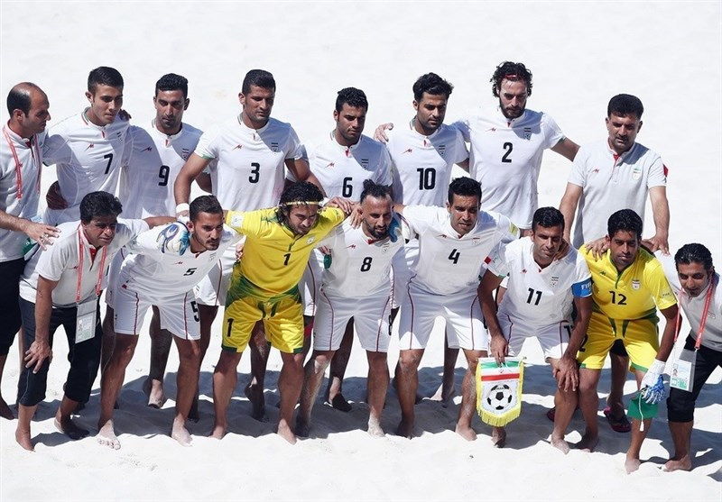 FIFA Beach Soccer World Cup: Iran Loses to Italy
