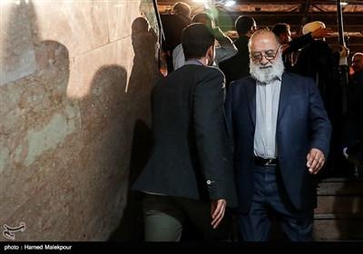 مهدی چمران در اولین همایش حامیان مردمی حجتالاسلام سیدابراهیم رئیسی در تهران