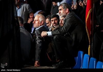 علی نیکزاد و محمد سلیمانی در اولین همایش حامیان مردمی حجتالاسلام سیدابراهیم رئیسی در تهران