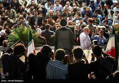 سخنرانی حجتالاسلام سیدابراهیم رئیسی در اولین همایش حامیان مردمی در تهران