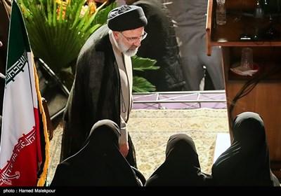 حجتالاسلام سیدابراهیم رئیسی در اولین همایش حامیان مردمی در تهران