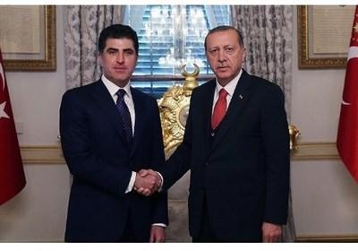 بارزانی اردوغان