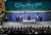 الإمام الخامنئی: حضور الشعب فی الساحة هو الذی أبعد شبح الحرب.. الانتخابات تصون الامن القومی