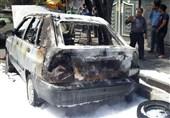 هلالاحمر قزوین هیچ امکاناتی برای مهار حریق خودروها در جاده ندارد