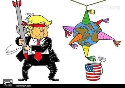 ترامب یعبث بالعالم