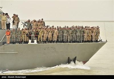 اردوی دو روزه آموزش معارف جنگ در منطقه ویژه اقتصادی بندر امام خمینی(ره)