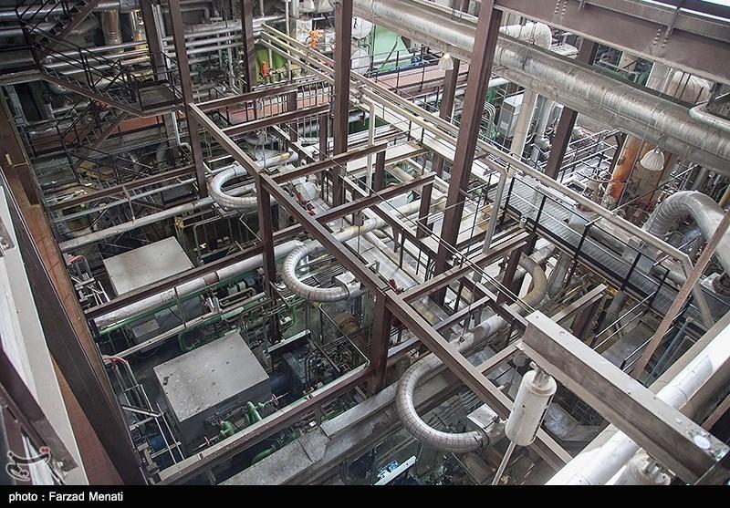 بازدید خبرنگاران از نیروگاه برق بیستون کرمانشاه