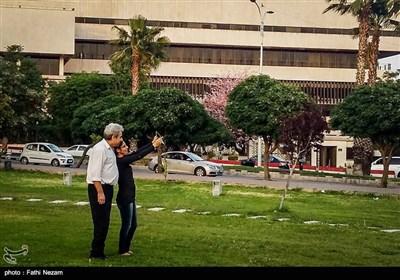 فصل بهار در دمشق