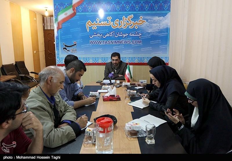 نشست خبری نماینده رئیسی در دفتر مشهد
