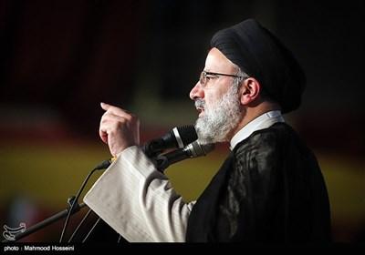 آیت الله رئیسی کی حامیون کی تهران مین پهلی انتخاباتی کمپین