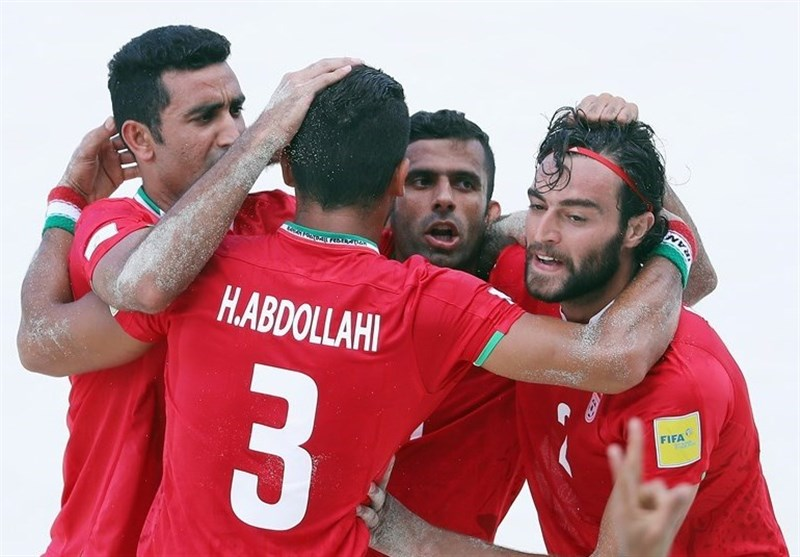 Iran Edges Russia at Intercontinental Beach Soccer Cup