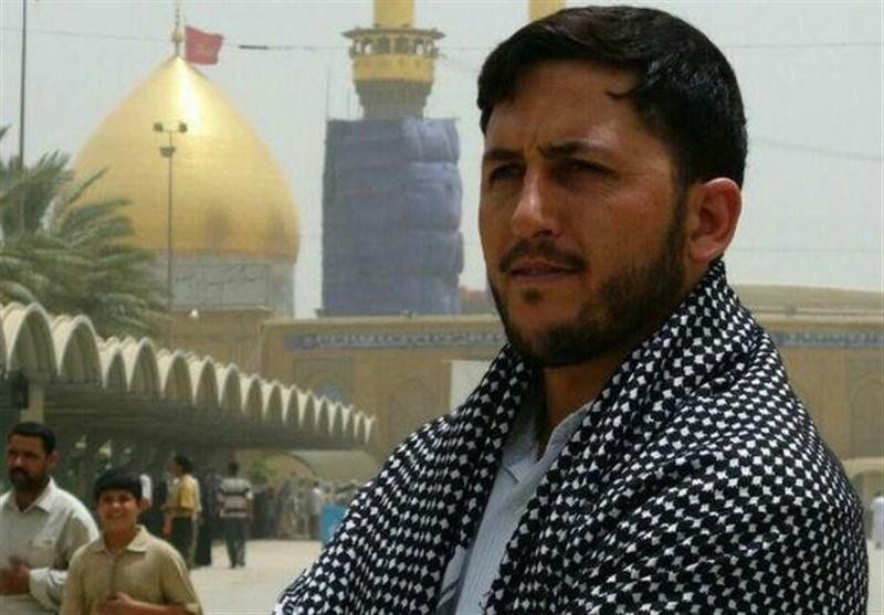 مراسم بزرگداشت شهید مدافع حرم علی اکبر عربی در قم برگزار شد