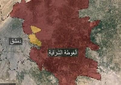خروج 50 هزار غیرنظامی از غوطه شرقی طی 72 ساعت گذشته