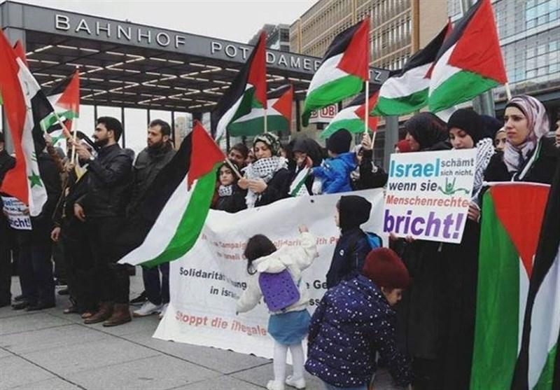 همبستگی با اعتصاب غذای فلسطینیان