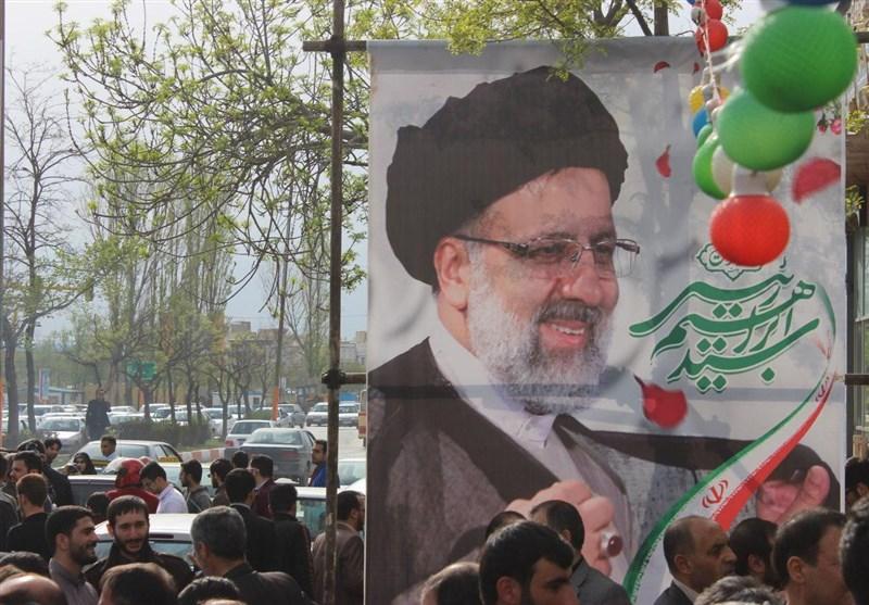 افتتاح ستاد انتخاباتی حجتالاسلام رئیسی در اردبیل + تصاویر