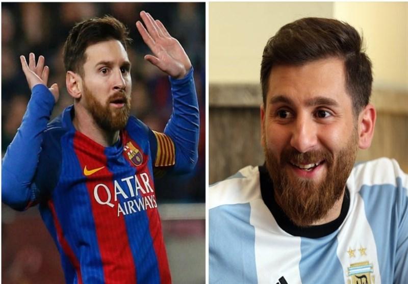 بدل ستارههای فوتبال لیونل مسی