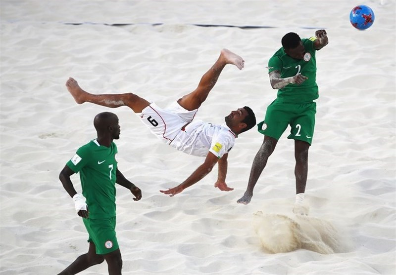 Iran Remains Third in Beach Soccer Ranking