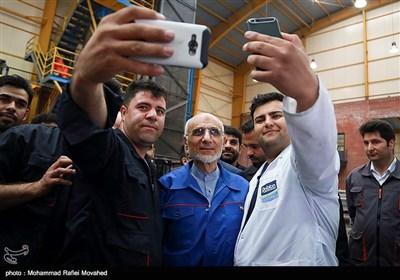 Iran's Presidential Candidate Aqa-Mirsalim Visits Qom on Election Trail