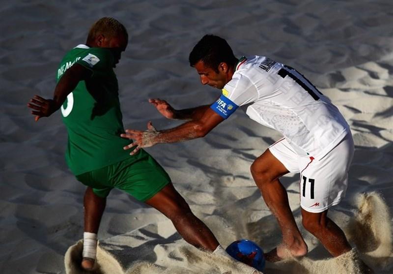 محمد احمدزاده، فوتبال ساحلی ایران و نیجریه