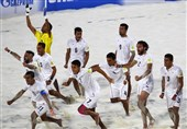 Iran Wins Persian Beach Soccer Cup
