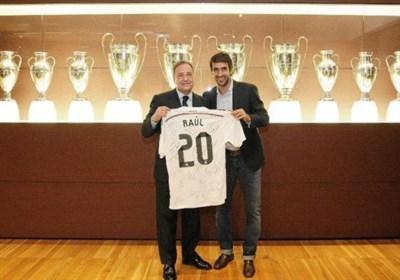 رئال مادرید، رائول را به عنوان سرمربی استخدام می  کند