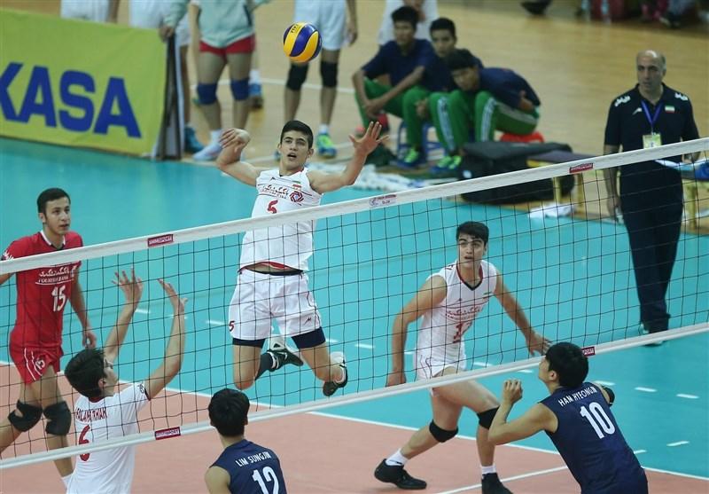 Iran Downs Mexico at FIVB Volleyball Boy's U-19 World Championship