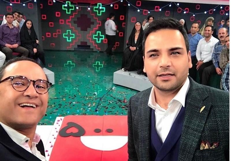 نامزدی احسان علیخانی و رامبد جوان در جشن حافظ