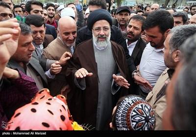 جولة المرشح السید ابراهیم رئیسی فی محافظة کردستان