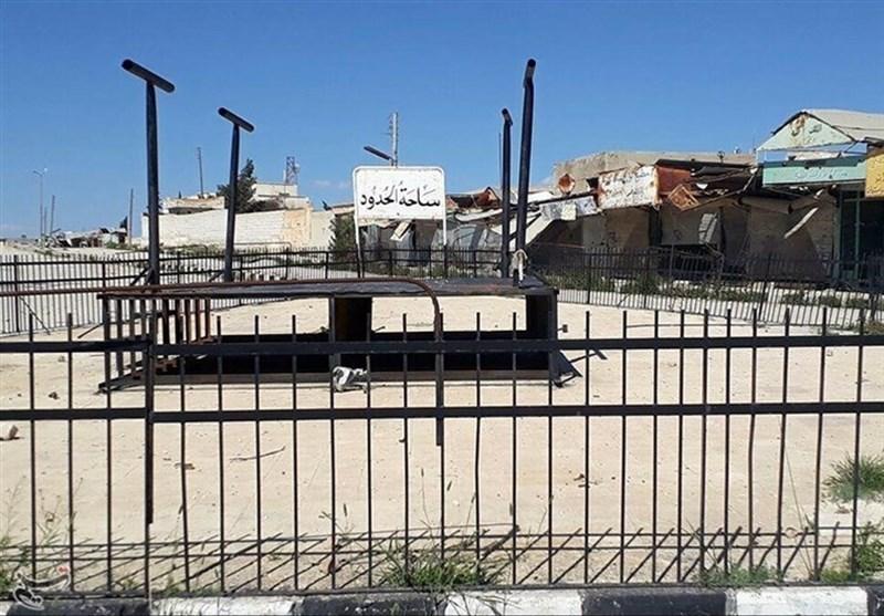 تسنیم تتجول فی ساحة إعدام الدواعش بدیر حافر+صور وفیدیو