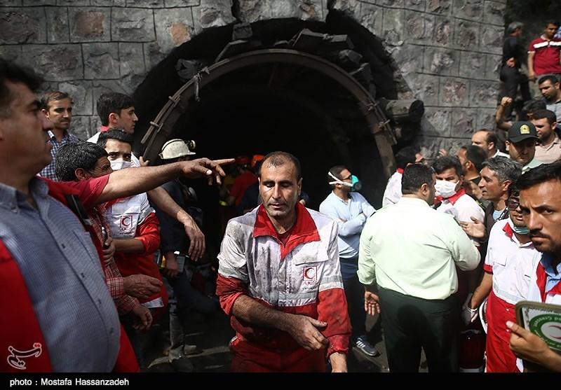ریزش معدن در آزادشهر