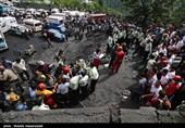 وزرای کار و صنعت وارد محل حادثه معدن آزادشهر شدند