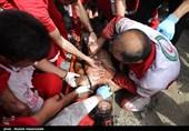 71 نفر در حادثه معدن آزادشهر مصدوم شدند/ 15 نفر بستری هستند